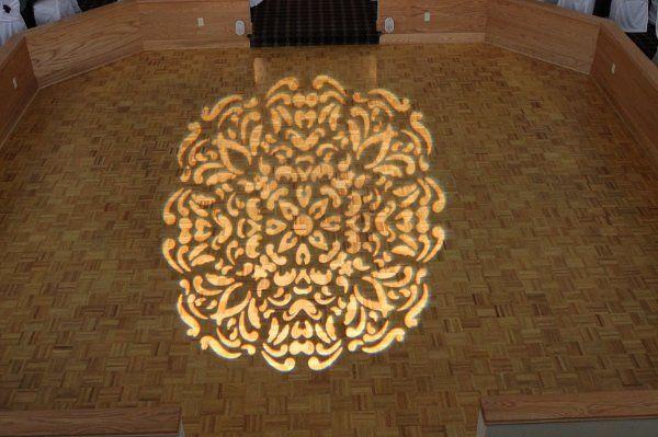Floor mosaic pattern at Greystone Castle, Canastota by Black Tie Entertainment DJ Photo Booths