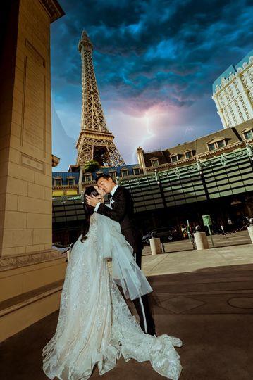 The Kiss of Love at Paris Hote