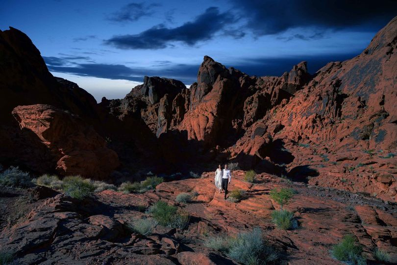 Valley of Fire weddings | Dese