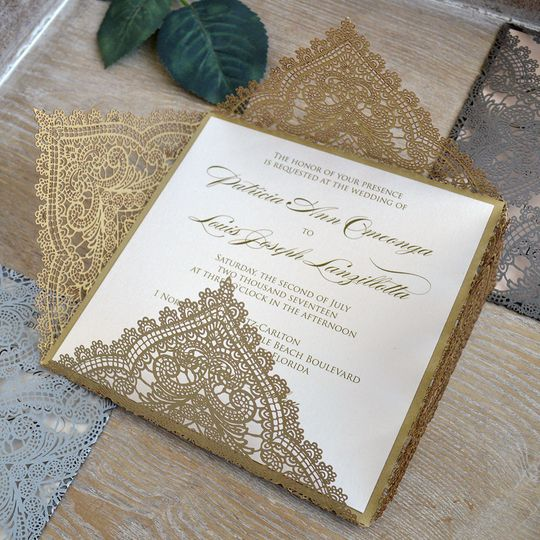 chantilly square laser cut gold3