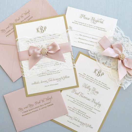paper lace invitations fort lauderdale fl weddingwire