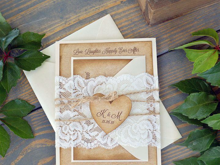 Tmx 1502304154649 Kati Lace Belly Band1 Fort Lauderdale, FL wedding invitation