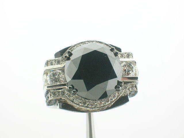 Tmx 1342137679313 15ctblackdiamondcostumring Woodland wedding jewelry