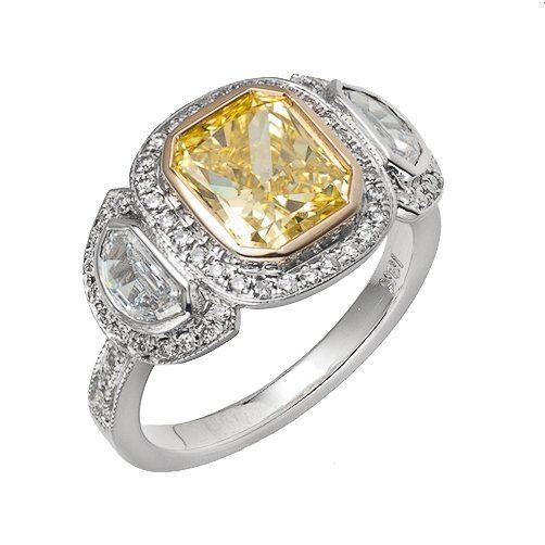 Tmx 1342137685178 BDyellowdiamond Woodland wedding jewelry