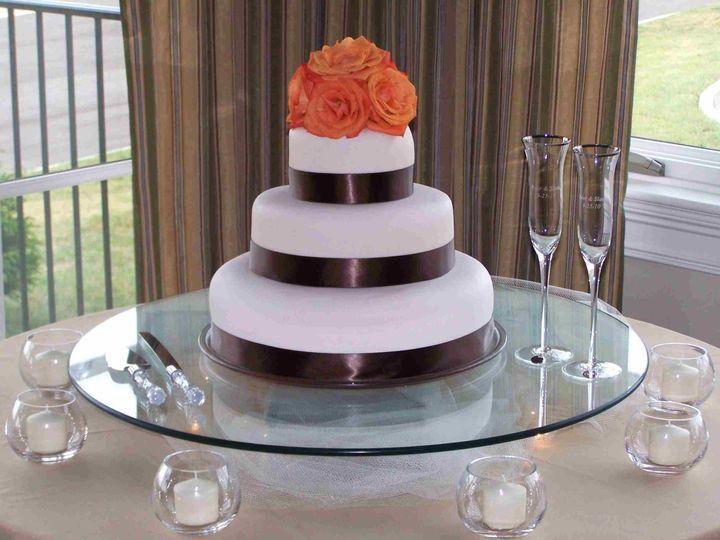 Tmx 1493914630427 Palmcoastbunnellcake7 Bunnell wedding cake
