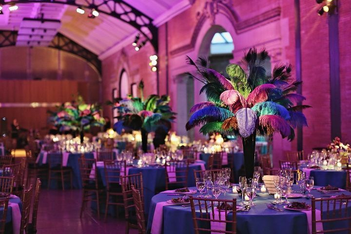 Neon reception setup