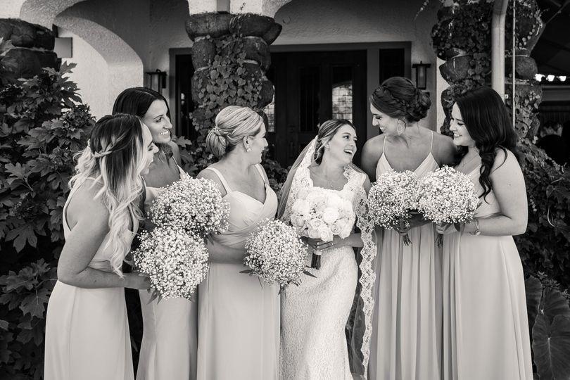 Some bride & bridesmaids time
