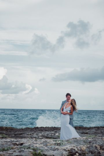 Beach Newlywed Session