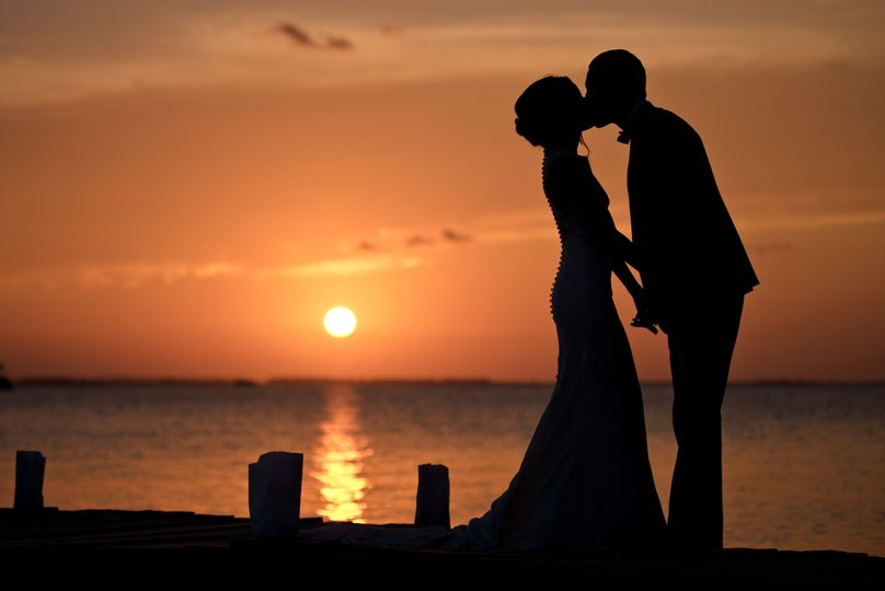 Sunset Newlywed Session