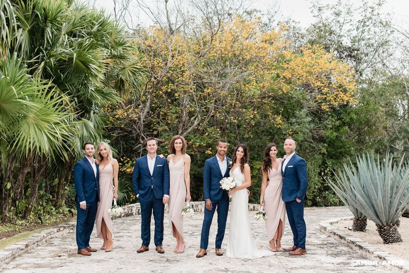 Elegant wedding in mexico