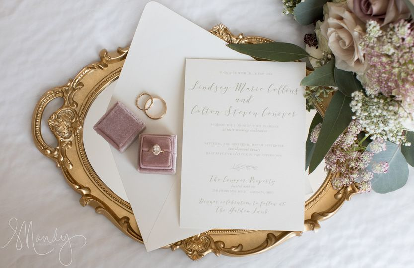 Elegant Stationery Details