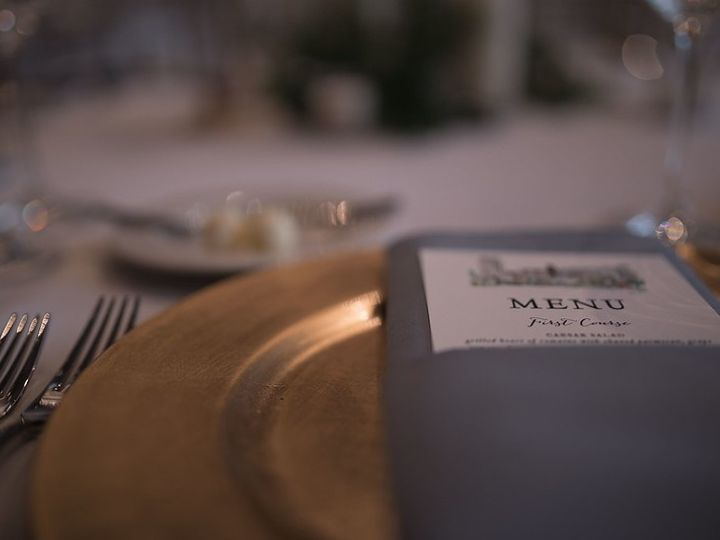 Tmx Menu Card Place Setting 51 1075511 158023381130011 Rochester, MN wedding venue