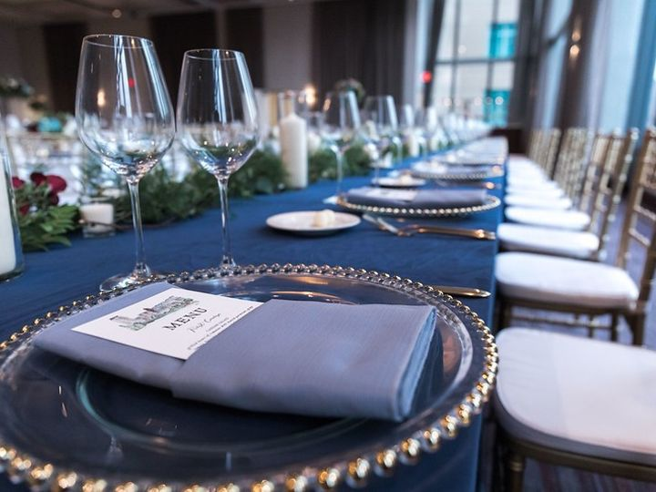 Tmx Place Setting With Greenery 51 1075511 158023379983229 Rochester, MN wedding venue