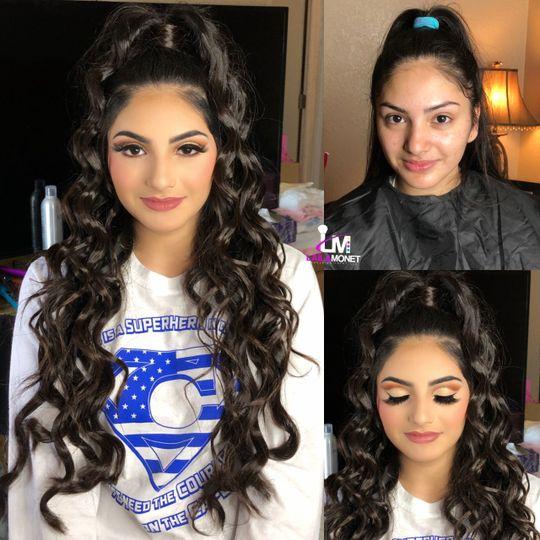 Hair and makeup goals