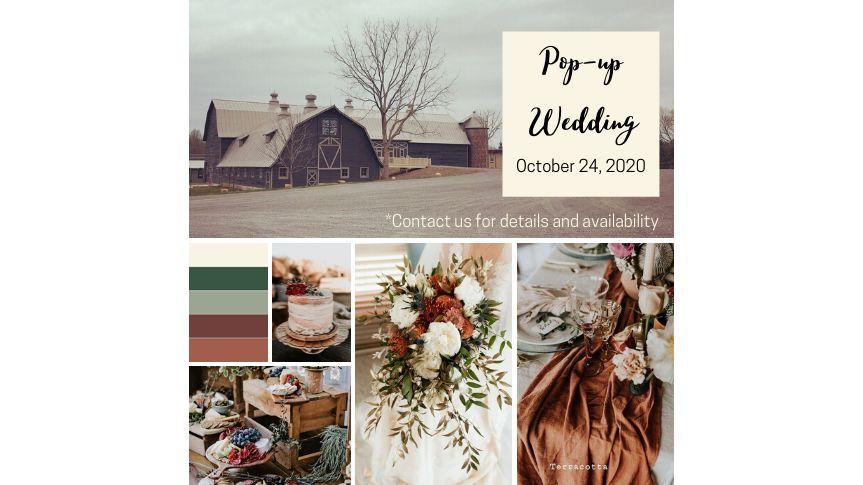 Pop-Up Wedding Event