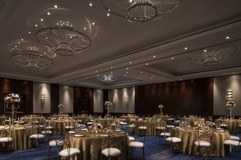 The Ritz-Carlton Ballroom.