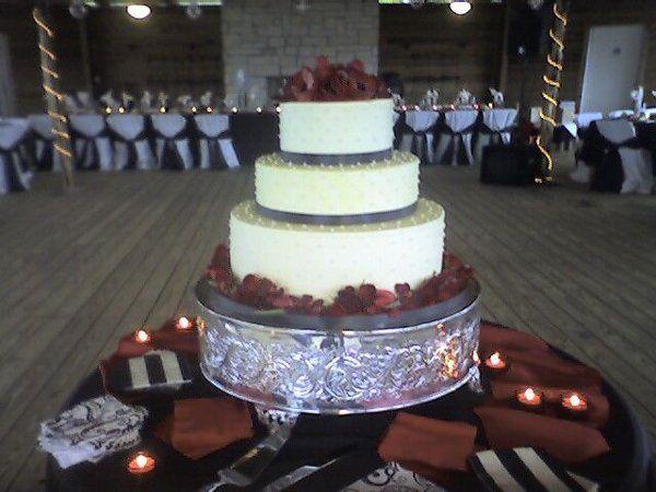 Tmx 1270756762992 BlackTieAffair Canyon Lake wedding cake