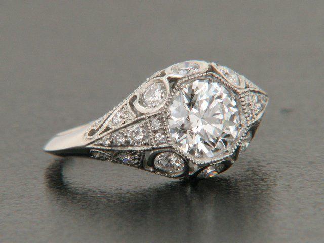 Fine Vintage Estate Engagement Rings