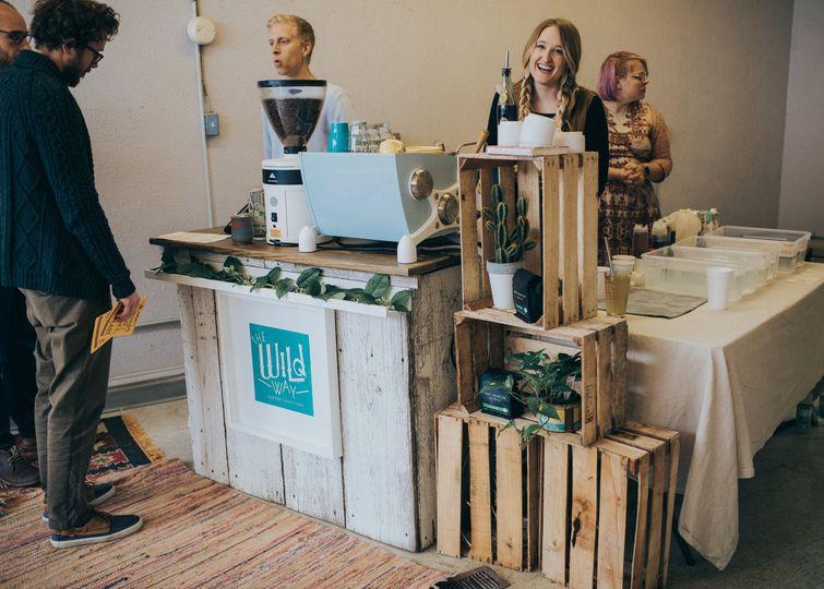 Coffee cart service!