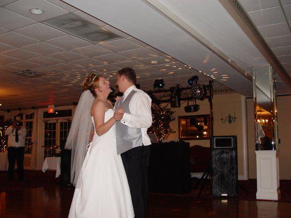 Mr & Mrs Howard first dance.