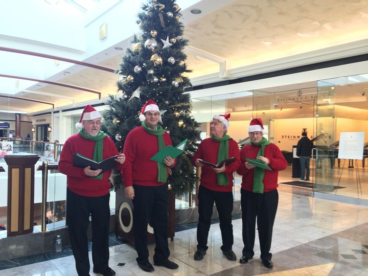 Christmas carolers for hire in malls, for christmas company holiday parties and more
