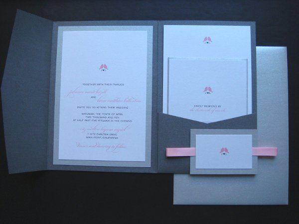 Tmx 1277236131137 LovebirdPocketfold2 Boston wedding invitation