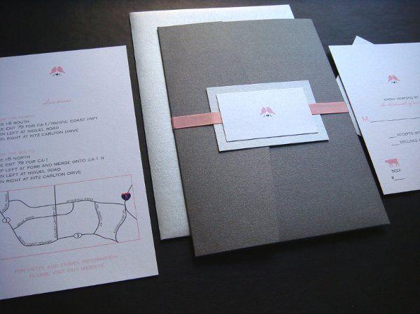 Tmx 1277236312497 LovebirdPocketfold10 Boston wedding invitation