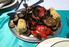 Grilled mix veggies