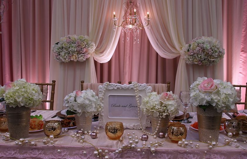 Wedding Décor by SND events.