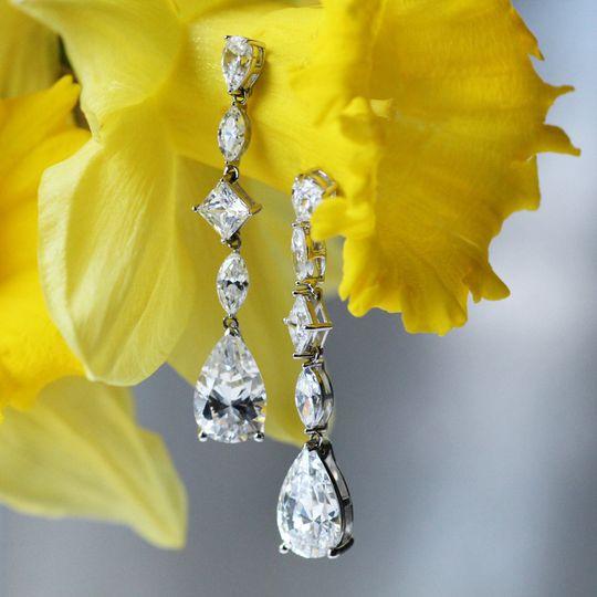 Duchess statement earrings