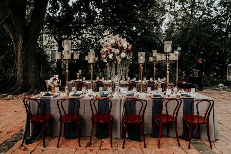 The wedding table