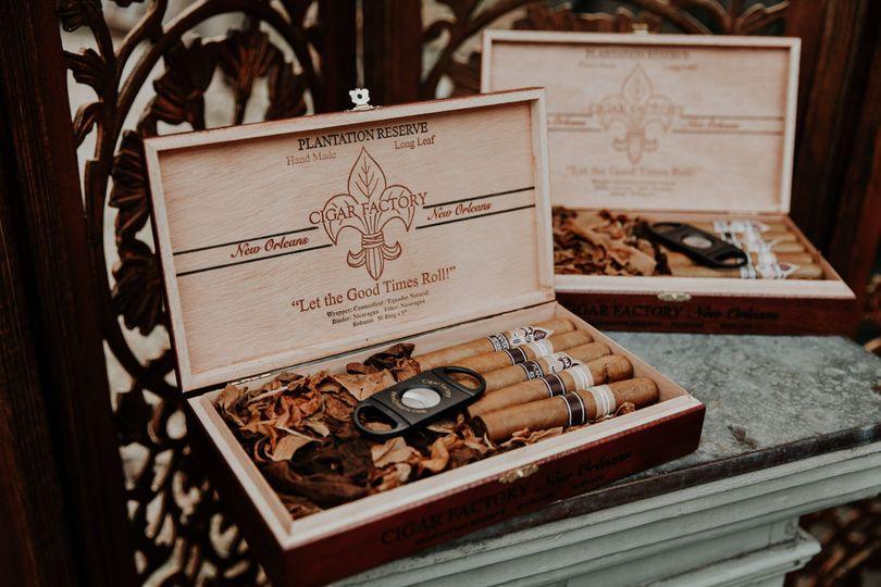 Self-serve cigar bar