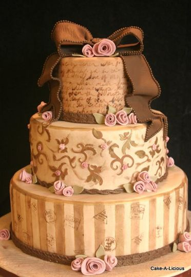 wedding cakes west valley utah cake a licious wedding cake west ut weddingwire 25938