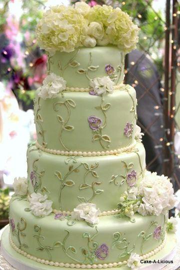 cake a licious wedding cake west jordan ut weddingwire. Black Bedroom Furniture Sets. Home Design Ideas