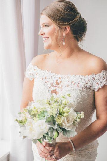 Gorgeous bride!
