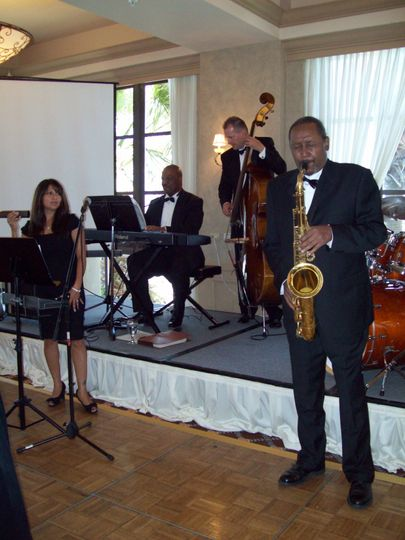 Live wedding performance
