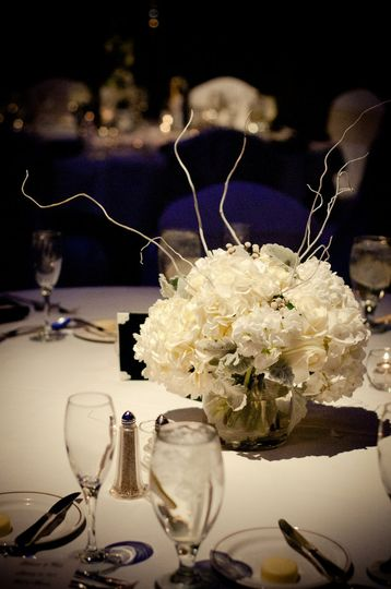 Short table centerpiece