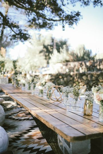Boho picnic lounge