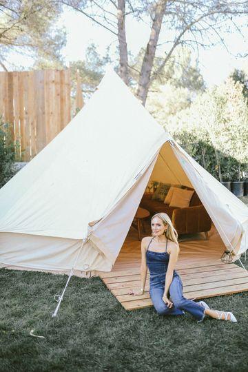 Bell Tent Rental