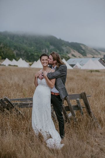 Blissful Glamping Wedding