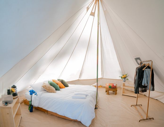Our Bedroom Tent