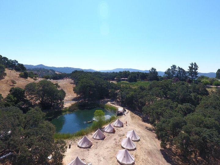 Tmx Drone Tents Kyleighs 51 1035611 San Rafael, CA wedding rental