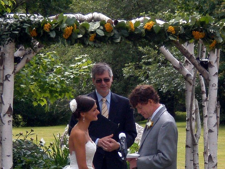 Tmx 1439564703662 14 06 Sarah And Rob Newport wedding officiant