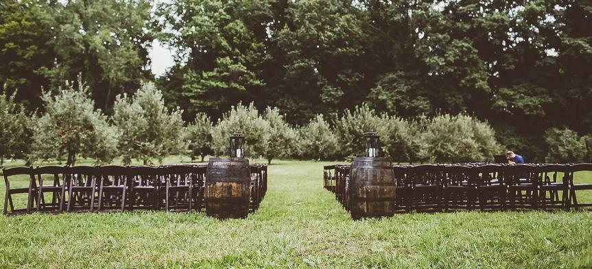 Ourdoor wedding