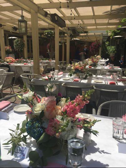 Gorgeous Reception Flowers