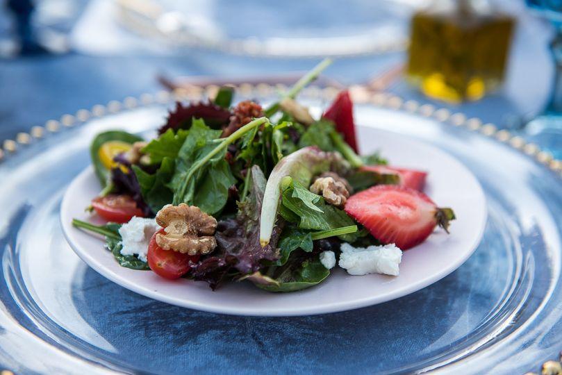 Mixed Greens Summer Salad