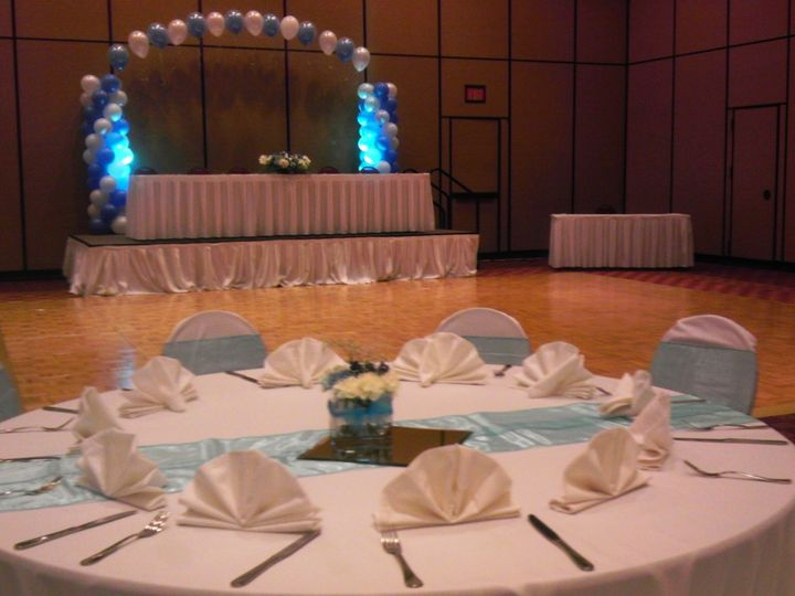 Tmx 1371733307646 Lightblue Arch Dallas wedding eventproduction