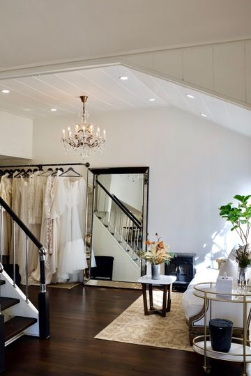 Stone bridal interior