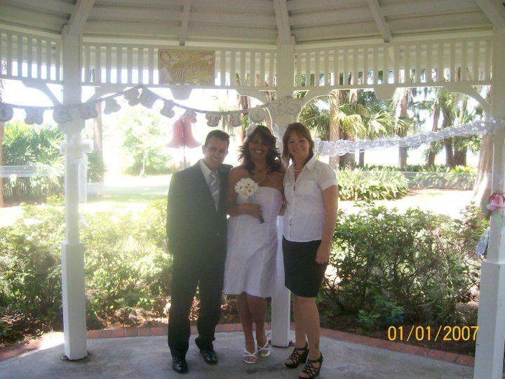 Gladys & Oscar getting married