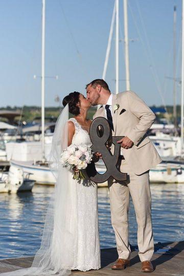 Couple on the docks